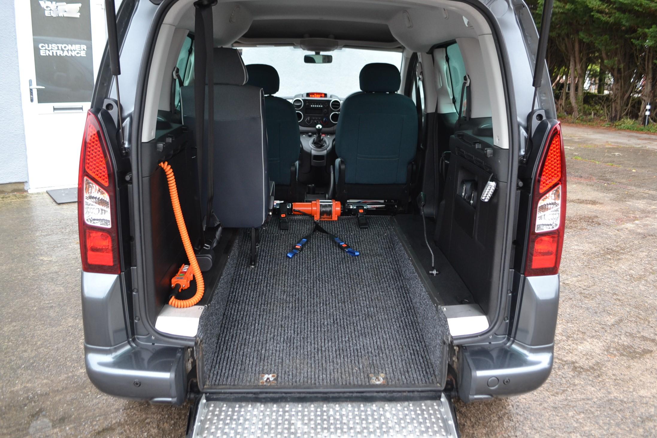 Wheelchair Accessible Vehicles WAV Cars Bristol Bath Swindon Devon Dorset - Electric Ramp