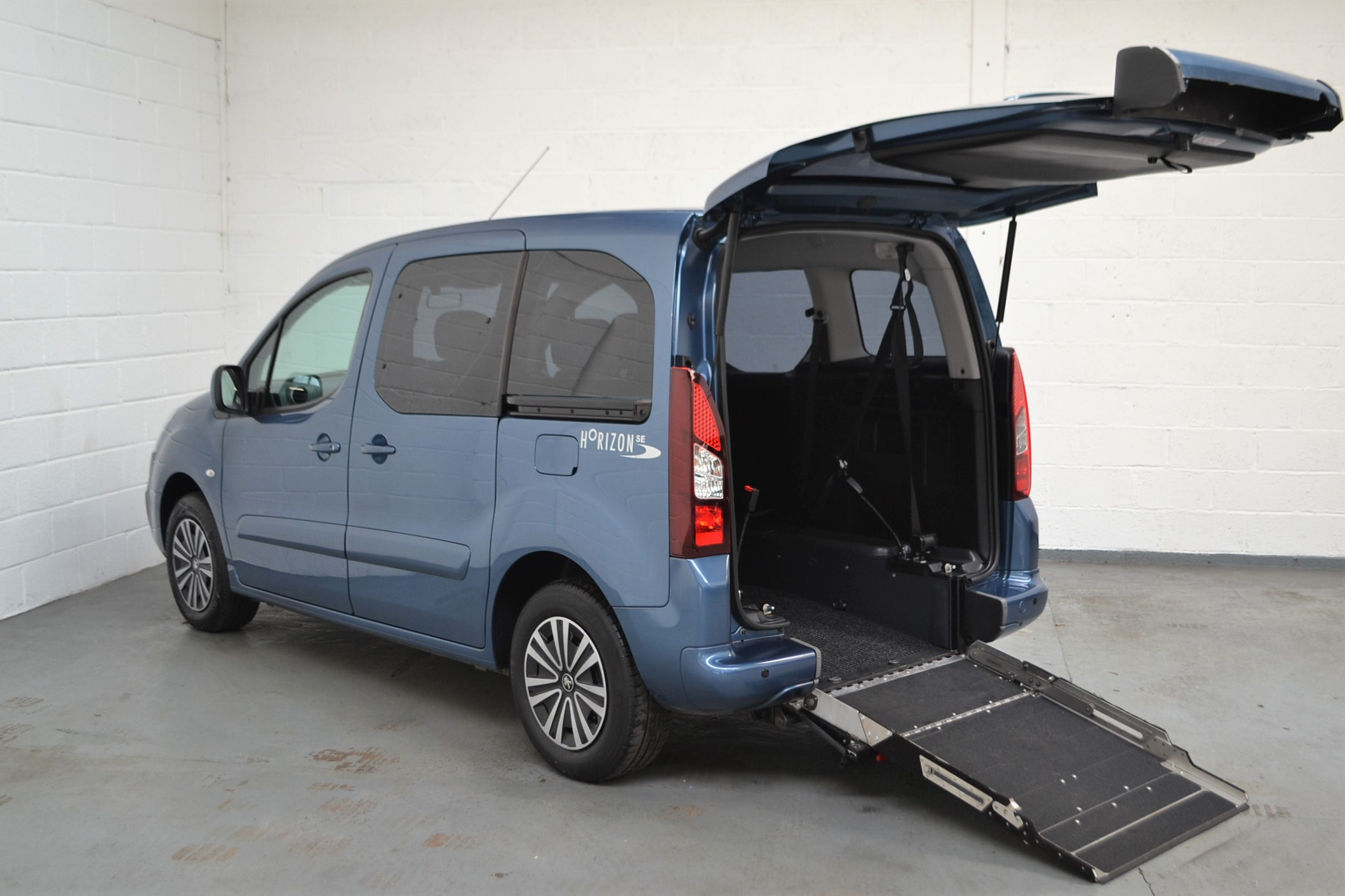 used wav cars for sale wheelchair Peugeot-Partner-1.6-Petrol-Wheelchair-Accessible-Vehicle-61 Bristol Somerset