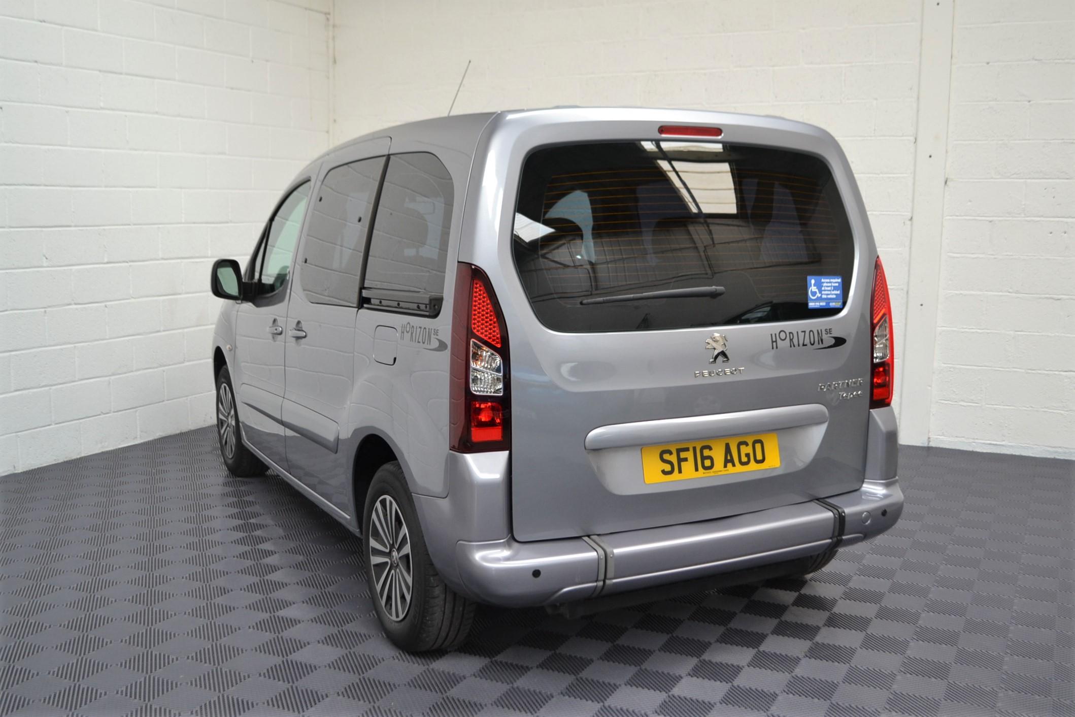 Used Wav Cars for Sale UK Citroen Berlingo WAV Car Peugeot Partner Petrol Wheelchair Accessible Vehicles Buy Sell Bristol Somerset Devon Dorset 3