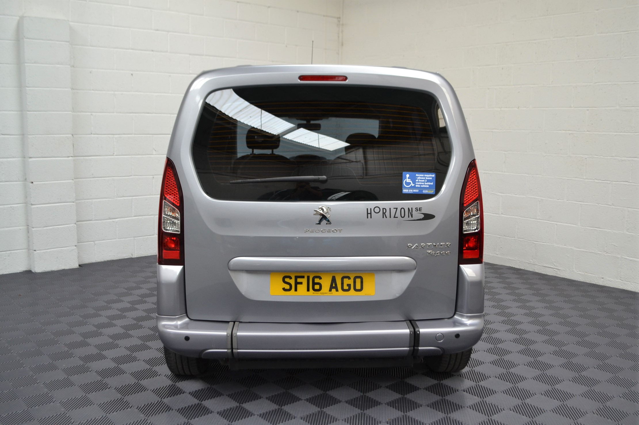 Used Wav Cars for Sale UK Citroen Berlingo WAV Car Peugeot Partner Petrol Wheelchair Accessible Vehicles Buy Sell Bristol Somerset Devon Dorset 4