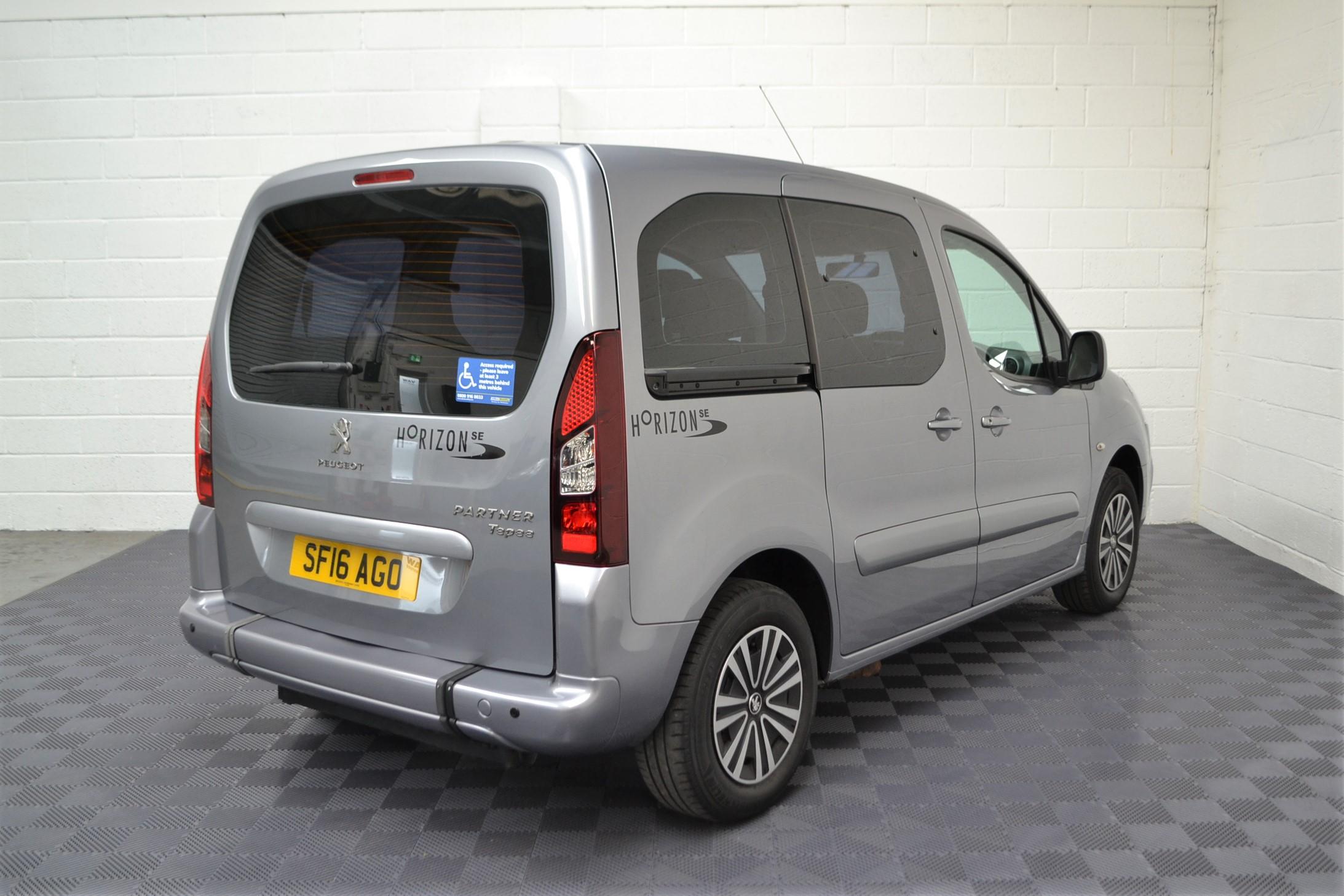 Used Wav Cars for Sale UK Citroen Berlingo WAV Car Peugeot Partner Petrol Wheelchair Accessible Vehicles Buy Sell Bristol Somerset Devon Dorset 5