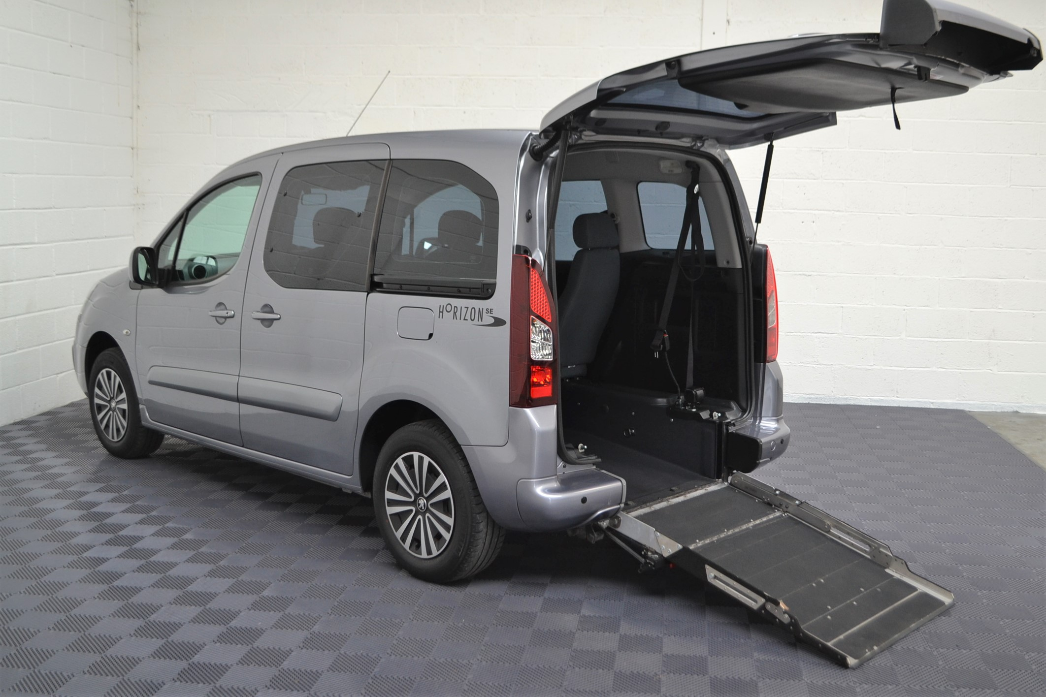 Used Wav Cars for Sale UK Citroen Berlingo WAV Car Peugeot Partner Petrol Wheelchair Accessible Vehicles Buy Sell Bristol Somerset Devon Dorset 6