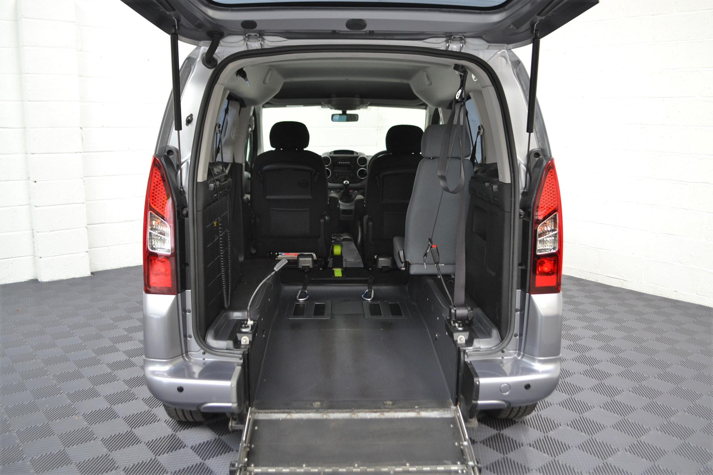 Used Wav Cars for Sale UK Citroen Berlingo WAV Car Peugeot Partner Petrol Wheelchair Accessible Vehicles Buy Sell Bristol Somerset Devon Dorset 7