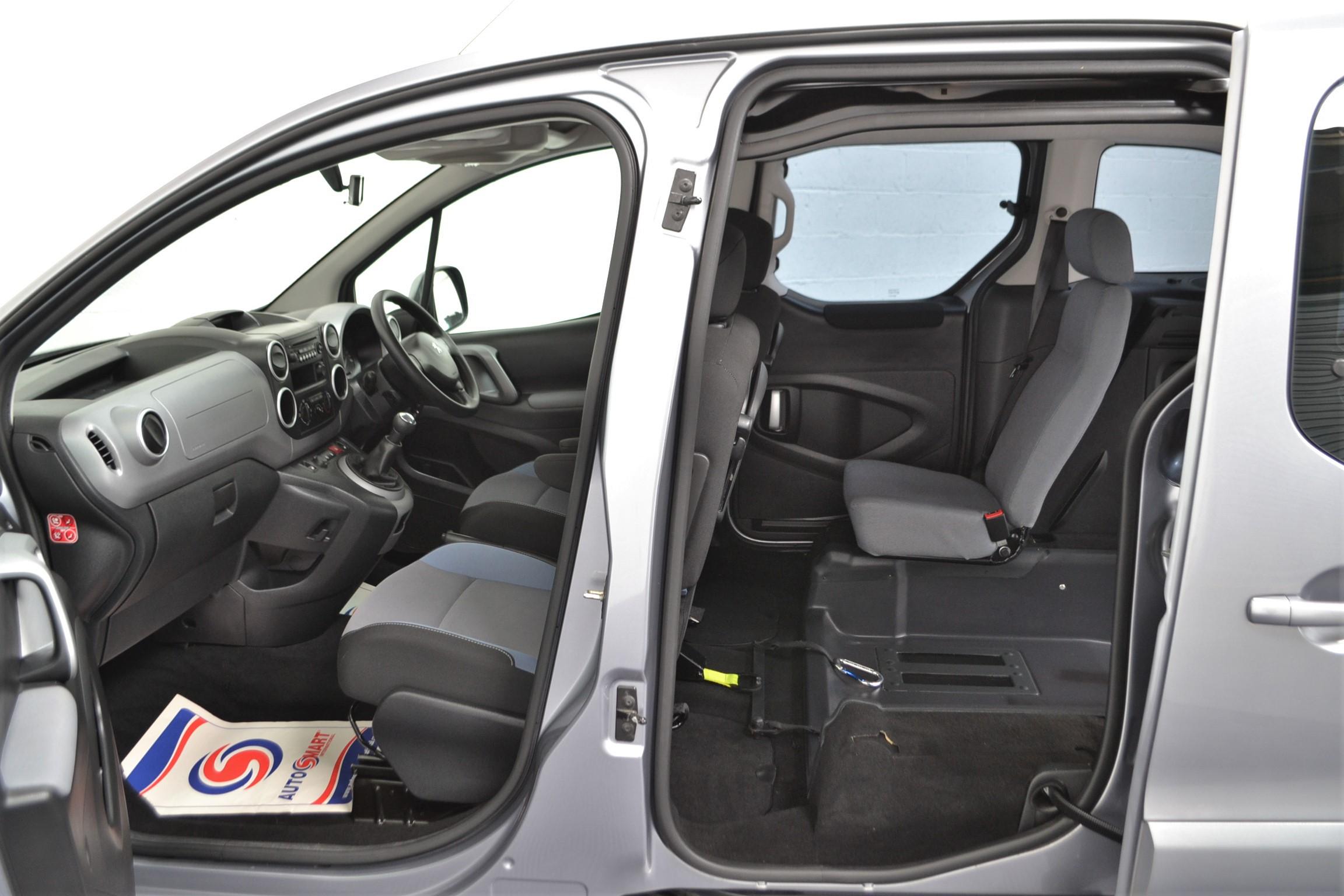 Used Wav Cars for Sale UK Citroen Berlingo WAV Car Peugeot Partner Petrol Wheelchair Accessible Vehicles Buy Sell Bristol Somerset Devon Dorset 8