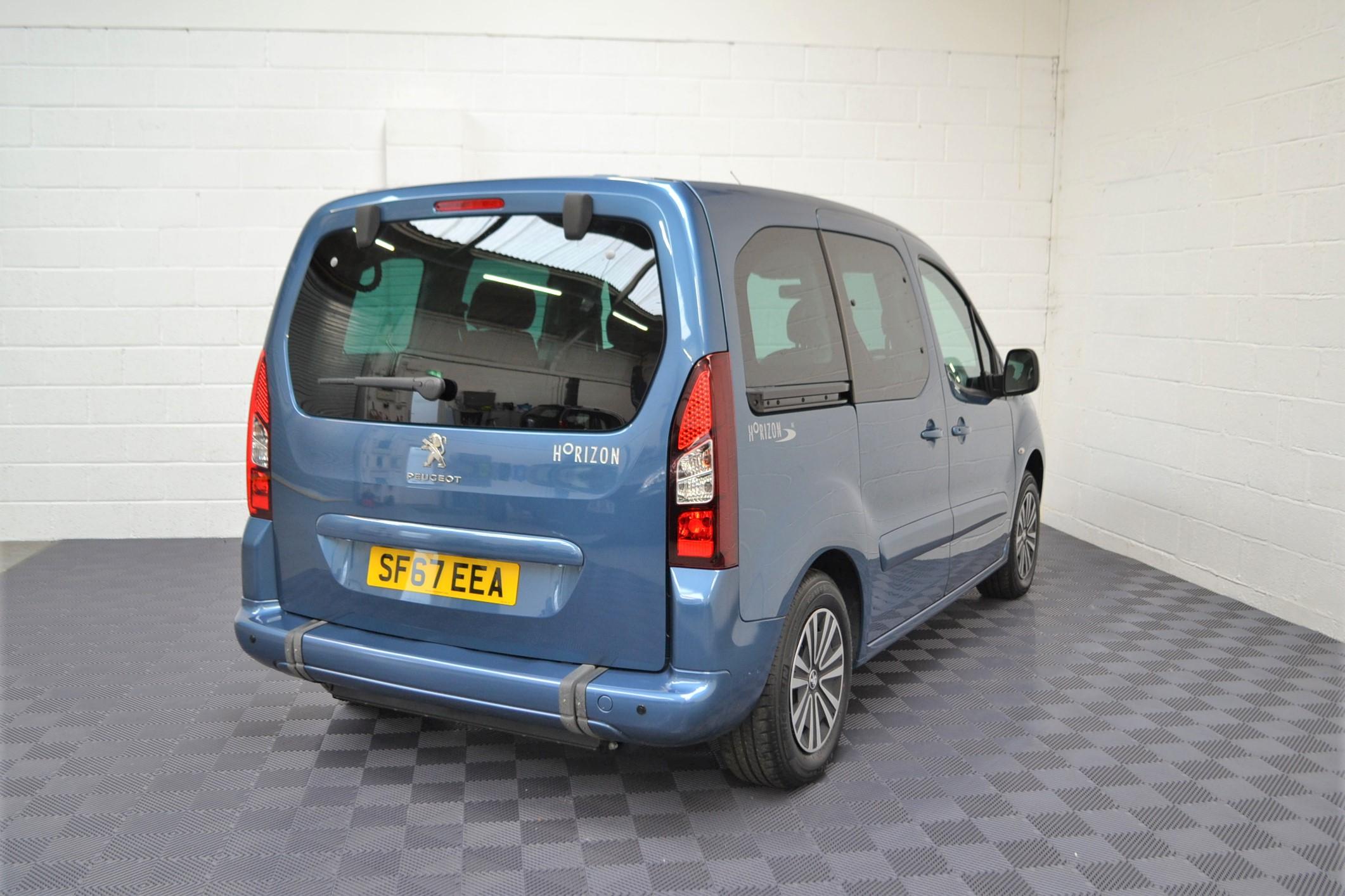 WAV Cars For Sale Bristol Wheelchair Accessible Vehicles Used For Sale Somerset Devon Dorset Bath Peugeot Partner SF67 EEA 11