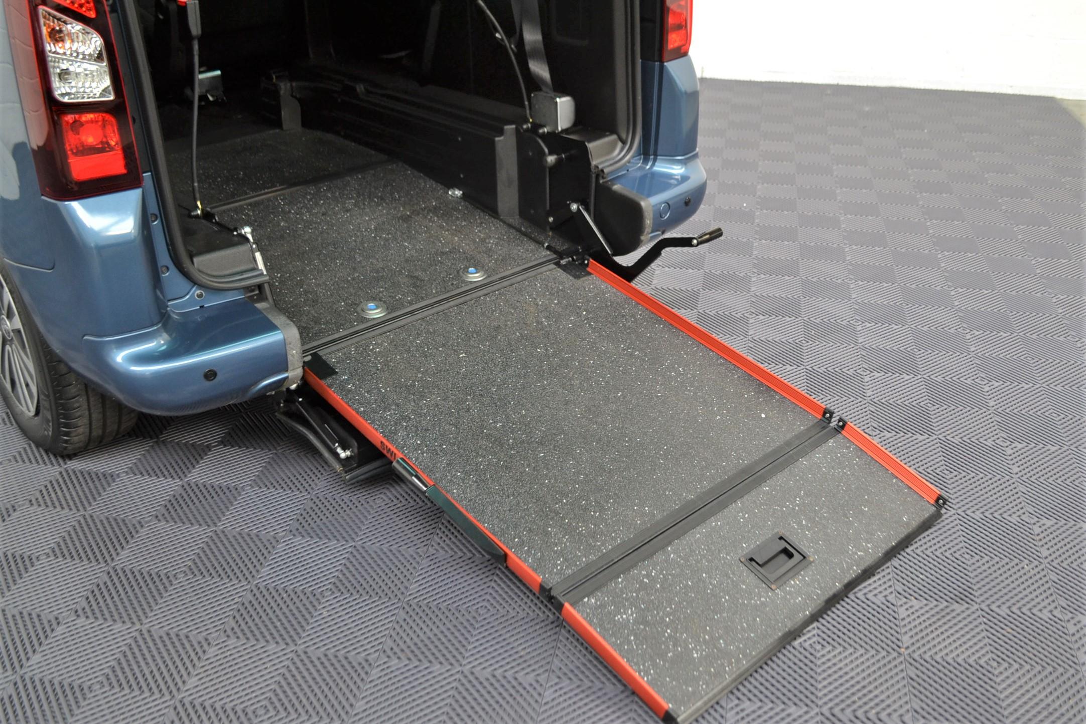 WAV Cars For Sale Bristol Wheelchair Accessible Vehicles Used For Sale Somerset Devon Dorset Bath Peugeot Partner SF67 EEA 4