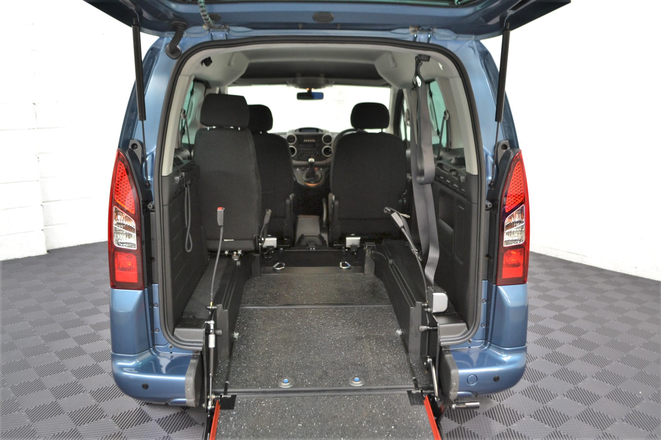 WAV Cars For Sale Bristol Wheelchair Accessible Vehicles Used For Sale Somerset Devon Dorset Bath Peugeot Partner SF67 EEA 5