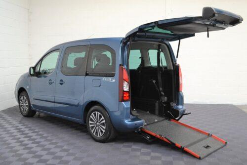 WAV Cars For Sale Bristol Wheelchair Accessible Vehicles Used For Sale Somerset Devon Dorset Bath Peugeot Partner SF67 EEA 1