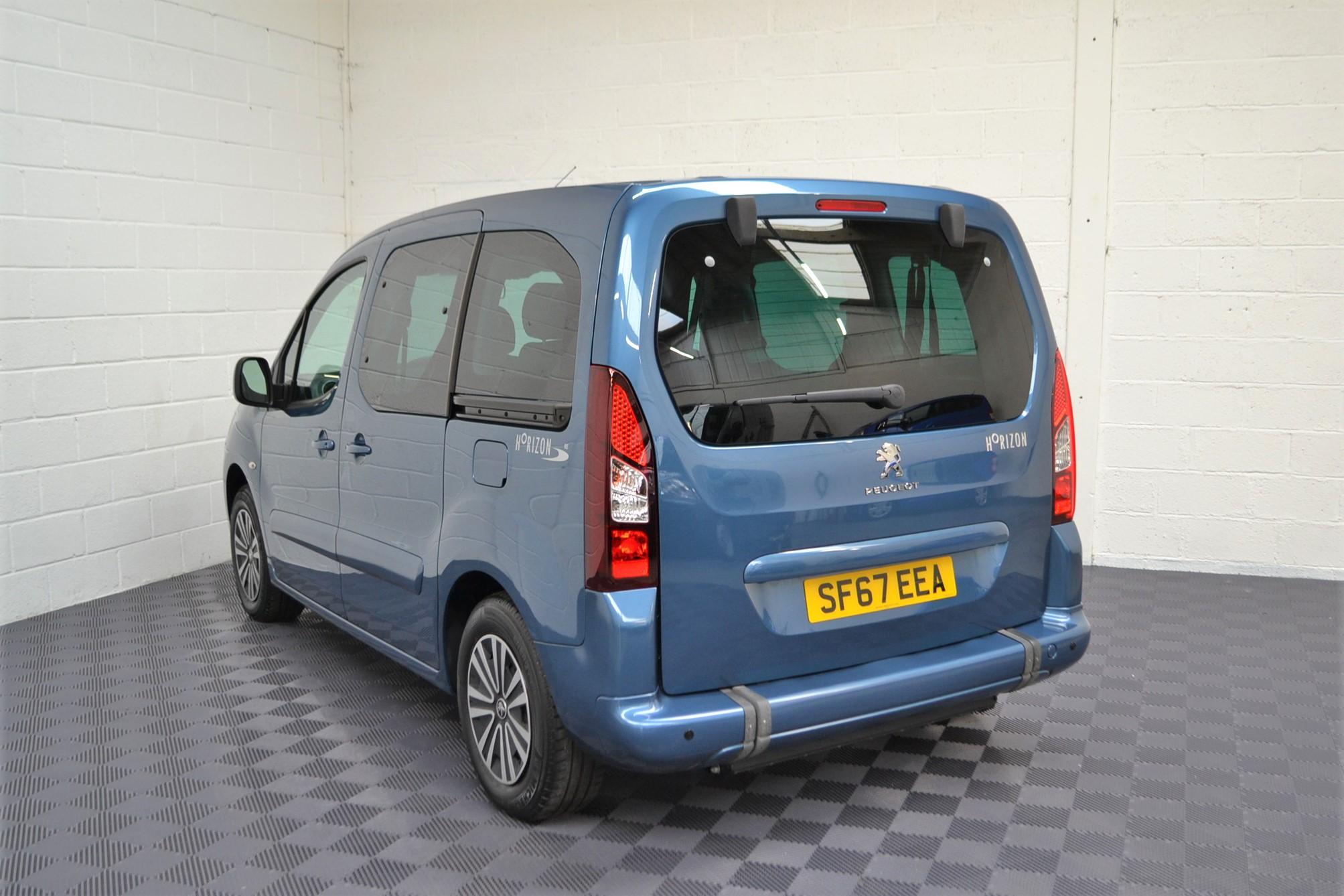 WAV Cars For Sale Bristol Wheelchair Accessible Vehicles Used For Sale Somerset Devon Dorset Bath Peugeot Partner SF67 EEA 9