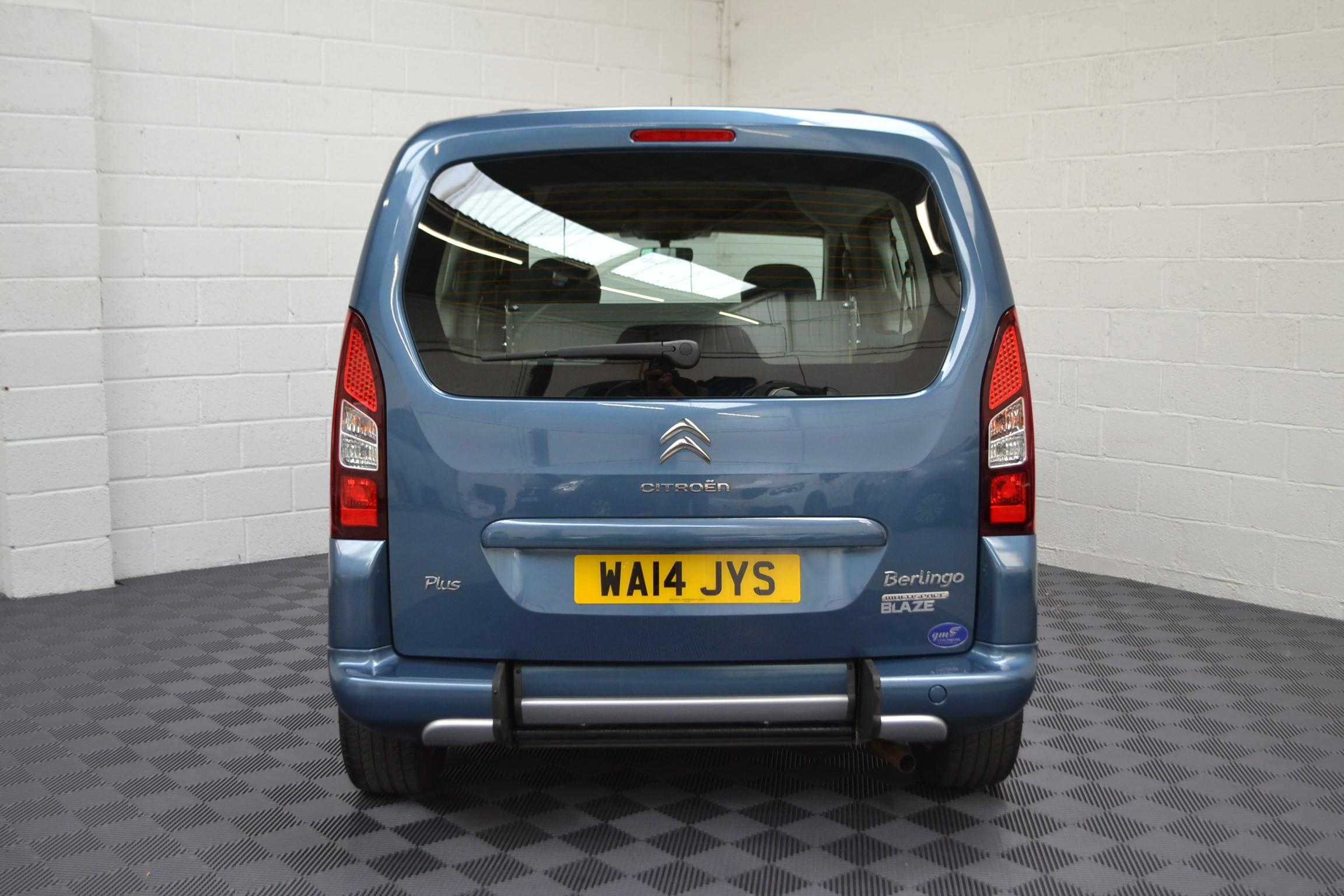 WAV Cars For Sale Bristol Wheelchair Accessible Vehicles Used For Sale Somerset Devon Dorset Bath Citroen Berlingo WA14 JYS 4