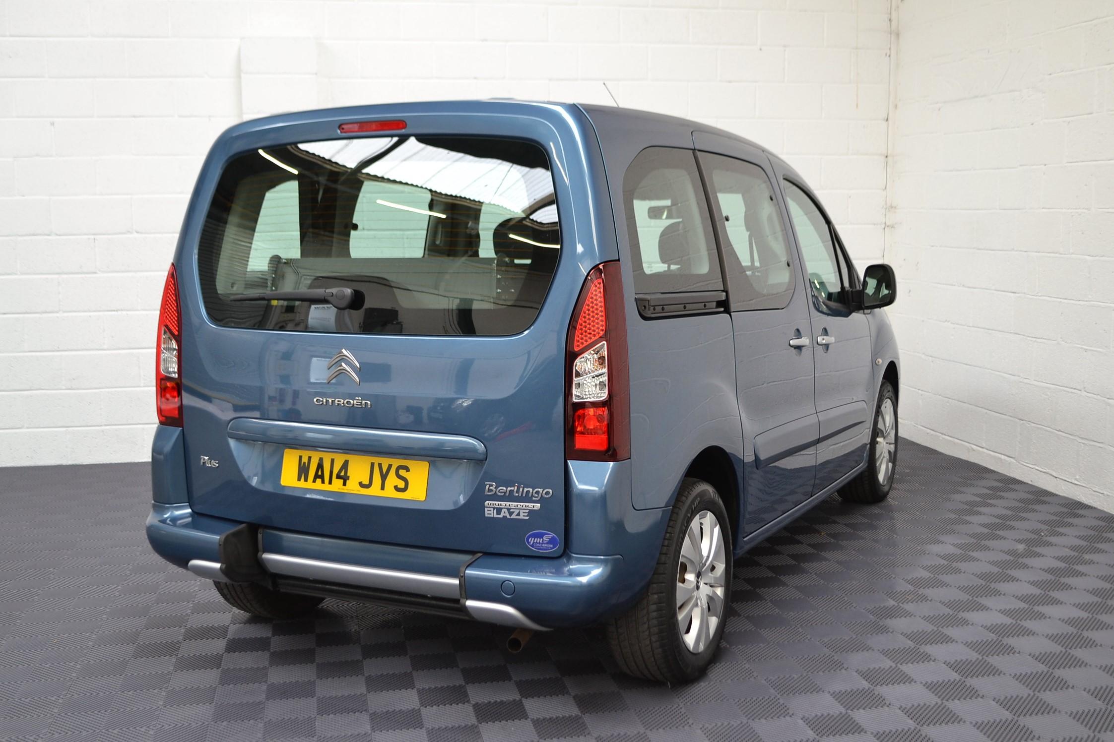 WAV Cars For Sale Bristol Wheelchair Accessible Vehicles Used For Sale Somerset Devon Dorset Bath Citroen Berlingo WA14 JYS 5