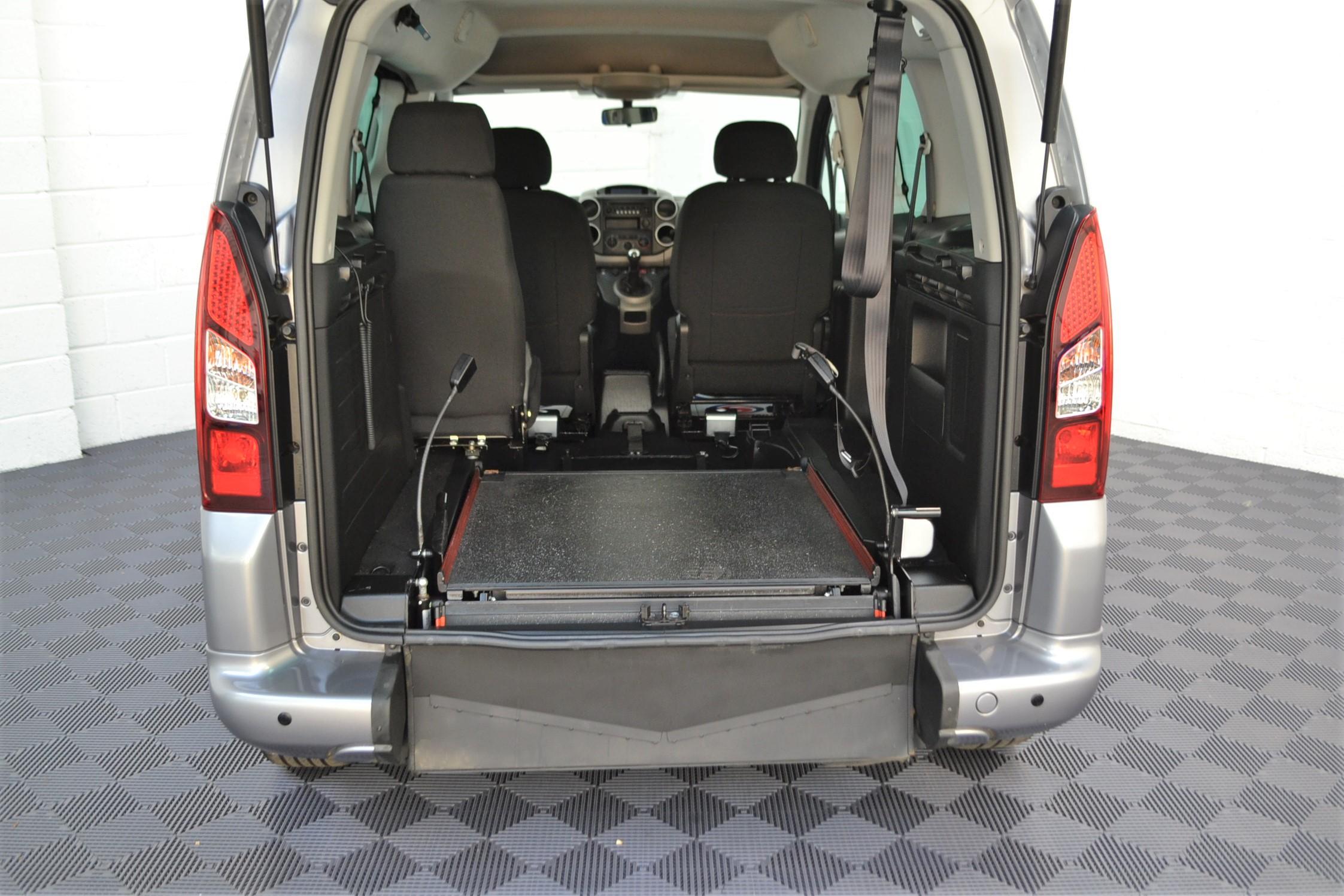 WAV Cars For Sale Bristol Wheelchair Accessible Vehicles Used For Sale Somerset Devon Dorset Bath Peugeot Partner SD17 OZL 23