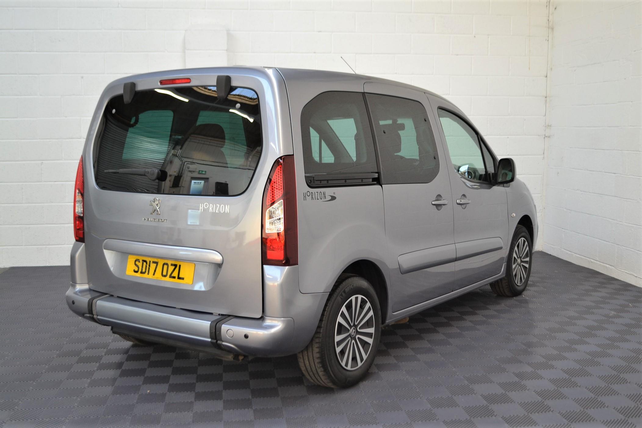 WAV Cars For Sale Bristol Wheelchair Accessible Vehicles Used For Sale Somerset Devon Dorset Bath Peugeot Partner SD17 OZL 6